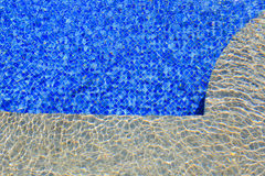 Water in swimming pool Royalty Free Stock Photography