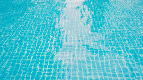Water swimming pool. In daytime stock images