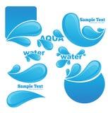 Water symbols Royalty Free Stock Photos