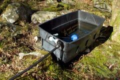 Water tank. Stock Photo