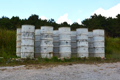 Water Tank Cement Royalty Free Stock Photography