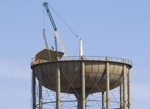Water Tank Construction 7 Royalty Free Stock Image