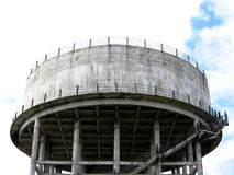 Water tank. A huge water tank under construction Stock Photography