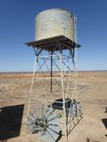 Water Tank, Longreach Stock Image