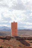 Water tank - morocco roses valley Royalty Free Stock Photo