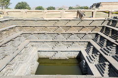 Water tank of Royal Enclosure temple at Hampi Stock Images
