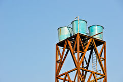 Water Tank Tower Stock Photography