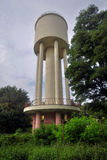 Water tank tower Stock Photo