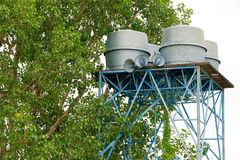 Water tank tower Royalty Free Stock Images