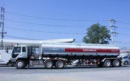 Water Tank Truck of Suksamran Transport. Royalty Free Stock Photo