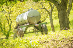 Water tank vehicle Stock Photography