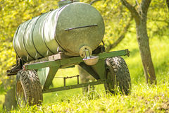 Water tank vehicle Royalty Free Stock Images