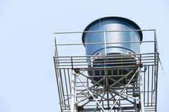 Water tank for water storage Royalty Free Stock Photography