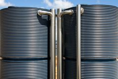 Water Tanks Royalty Free Stock Photos