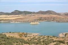 Water tanks ardales Stock Photos