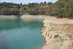 Water tanks ardales Stock Photo