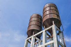 Water tanks Royalty Free Stock Image