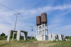 Water tanks Stock Photos