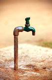 Water tap. Looking great in outdoors Royalty Free Stock Image