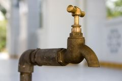 Water Tap. Close up Royalty Free Stock Image