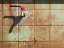 Water tap. Tap for bath tool. Songkhla, Thailand Royalty Free Stock Image