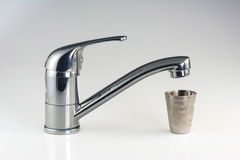 Water tap closeup Royalty Free Stock Images
