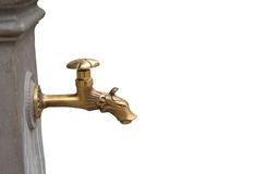 Water tap with dragon head Royalty Free Stock Photos
