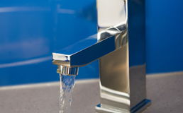 Water tap. Open water tap close up Royalty Free Stock Photo