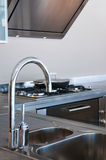 Water tap and sink Royalty Free Stock Photos