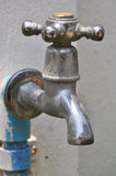 Water tap on the street. Royalty Free Stock Photo