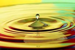 Water tappar Arkivfoto