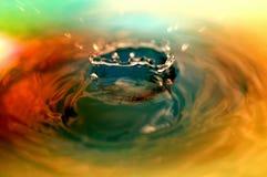 Water tappar Arkivbild
