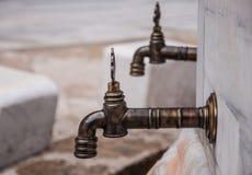 Water taps Stock Photos