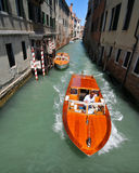 Water taxi Royalty Free Stock Images