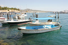 Water Taxi. A water taxi in a small mexican marina Stock Images