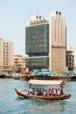 Water taxi (abra), Dubai Creek Stock Images