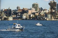 Water taxi, Australia. Royalty Free Stock Photos