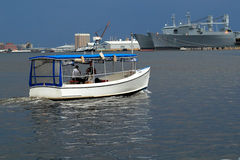 Water Taxi Baltimore Royalty Free Stock Image