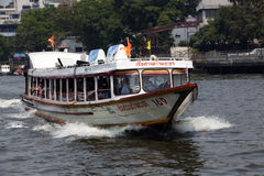 Water Taxi - Bangkok, Thailand Stock Image