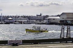 Water taxi Casco Bay Stock Image