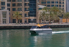 Water taxi in Dubai Royalty Free Stock Image