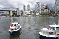 Water Taxi ferry Vancouver BC Royalty Free Stock Photography