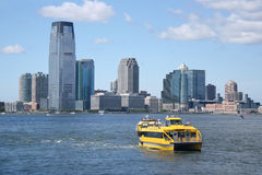 Water taxi. New York (United States of America) Stock Photography