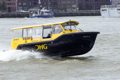 Water taxi rotterdam Royalty Free Stock Photography