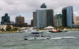 Water Taxi on San Diego,California. Royalty Free Stock Images