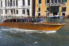 Water taxi in Venice Stock Images
