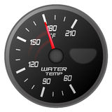 Water temperature meter Royalty Free Stock Photo