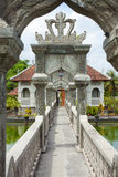 Water temple in Bali. Architectural wonders at the Karangasem water temple in Bali, Indonesia Stock Photography