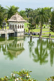 Water temple in Bali. Architectural wonders at the Karangasem water temple in Bali, Indonesia Royalty Free Stock Photos