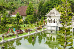 Water temple in Bali. Architectural wonders at the Karangasem water temple in Bali, Indonesia Stock Image